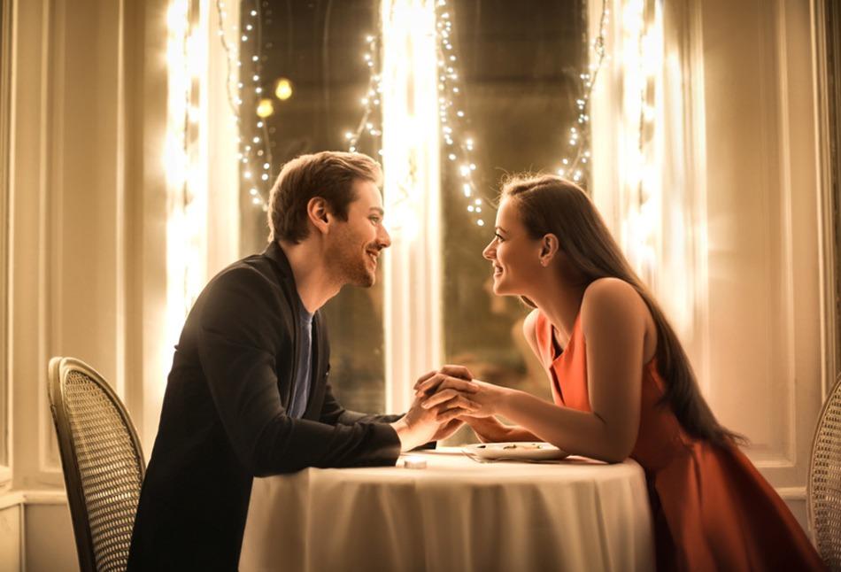 diner en amoureux
