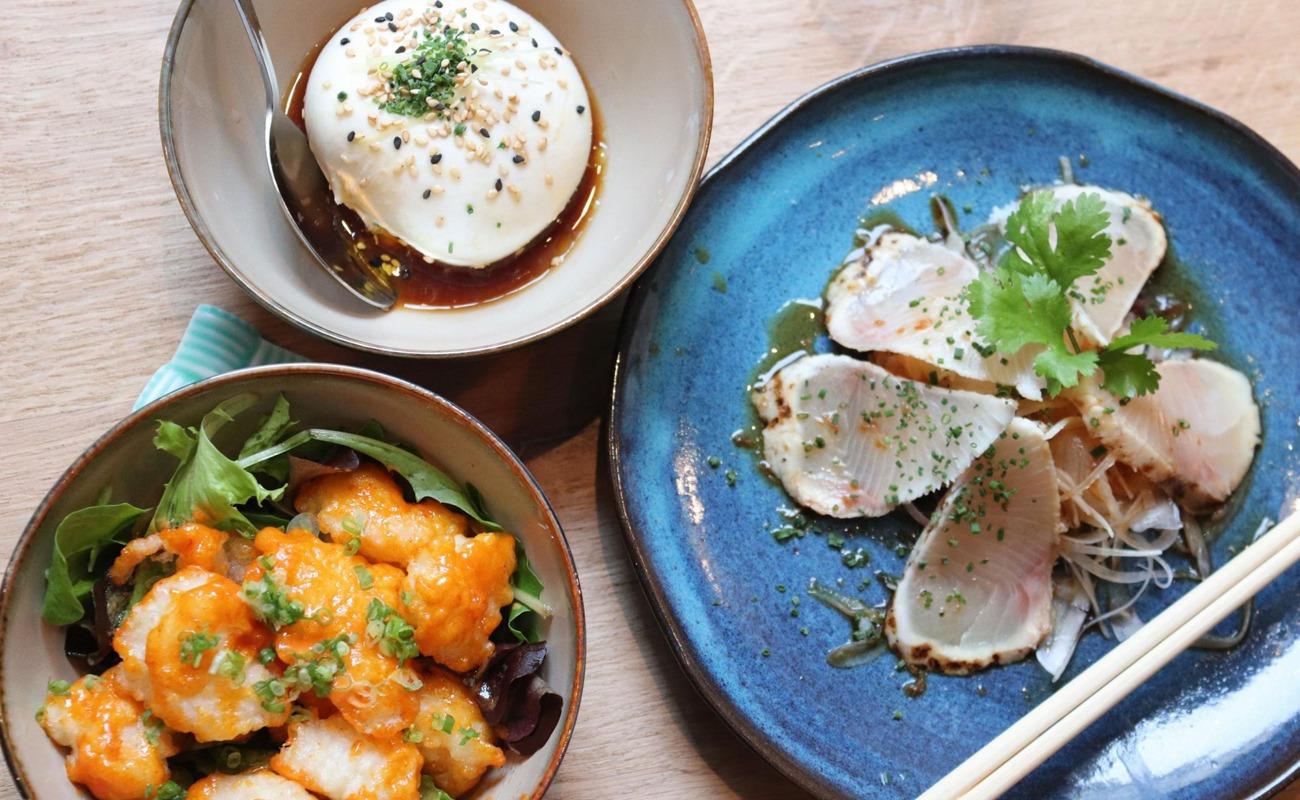 Un plat: japonais