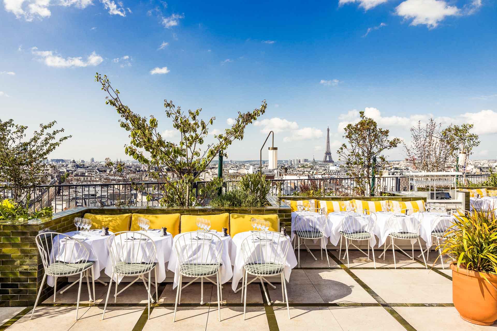 meilleures terrasses parisiennes pour l'été 2021