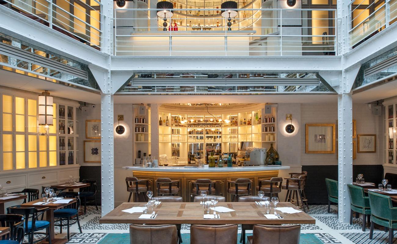 Restaurant atypique Marais